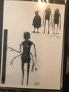 Star-Wars-Production-Used-Concept-Art-Print-Lucasfilm-Creature-Droid-Scavengers