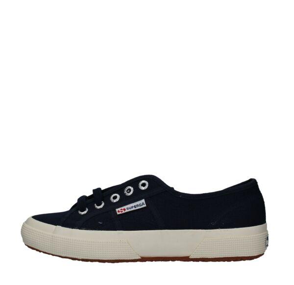 100% Vero Ame2_supe(37) Scarpe Sneakers Superga 37 Donna Blu Prezzo Moderato