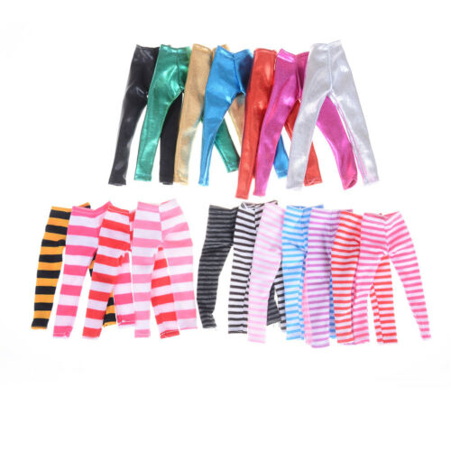 3X Fashion Colorful Ranbow Pants for Doll for OJ SP