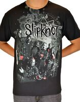Slipknot - Grey Splatter T-shirt Free Shipping Official