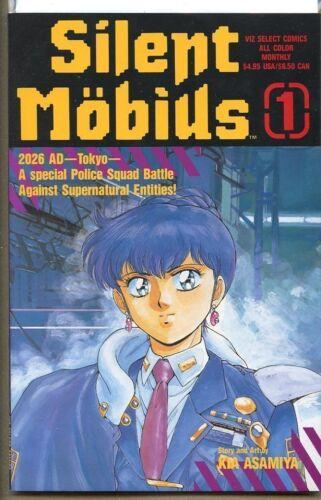 Silent Mobius Book One 1991 series # 1 near mint comic book