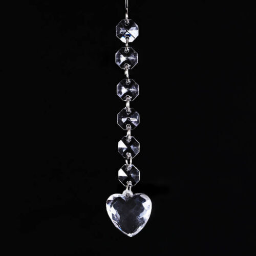 14Style Clear Glass Crystal Round Ball For Chandelier Lamp Drop Pendant Decor