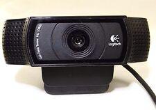 Logitech HD Pro C920 Web Cam V-U0028 with Carl Zeiss Lens 1080p HD FREE SHIPPING