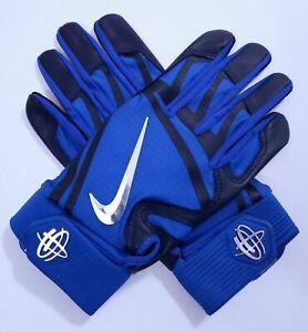 Capable Nike Huarache Elite Gants Batteur Homme Grand Jeu Royal / Collège Marine/chrome