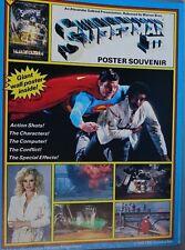 Superman III - Alexander Salkind Presentation Poster Souvenir 1983