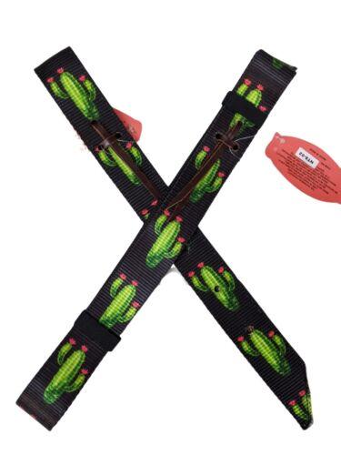 Sunflower or Aztec Cinch Strap Feather Nylon Latigo /& Off-Billet Set Cactus