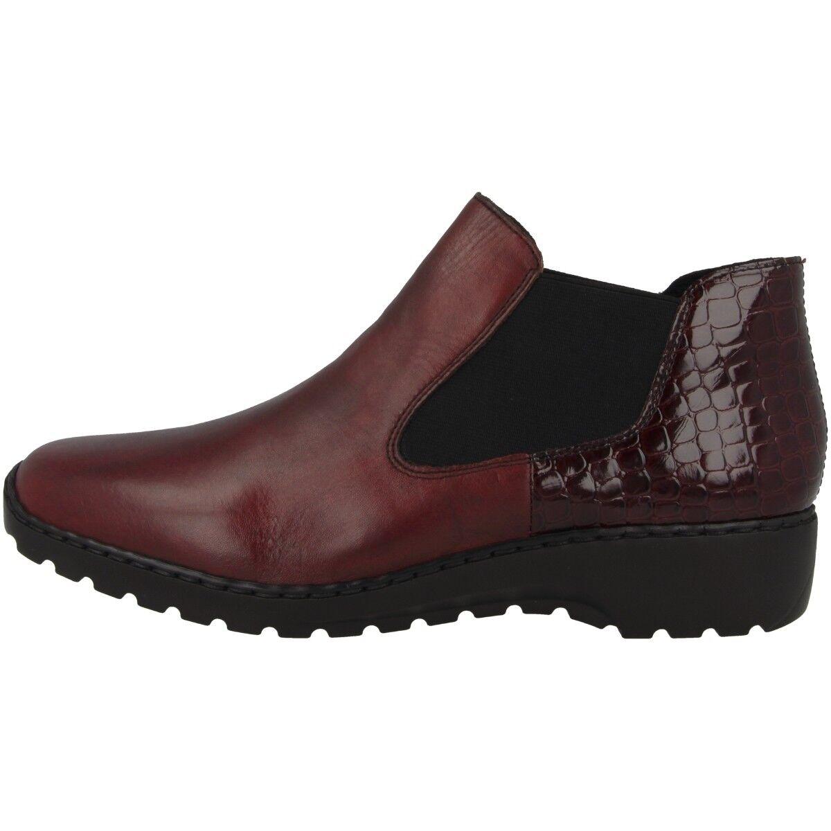 Rieker Cristallino-Bahamas Schuhe Antistress Slipper Chelsea Boot L6090-35