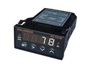 24V DC Universal 1/32DIN Digital  F/C PID Temperature Controller, White