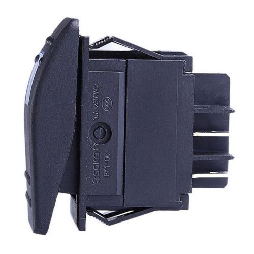 3 X 4Pin Car Auto 12V 20A 24V 10A Bar Rocker Toggle Switch Red LED Light Sales