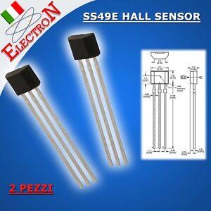 2x-Honeywell-SS49E-49E-SENSORE-MAGNETICO-LINEARE-EFFETTO-HALL-Bici-Elettrica
