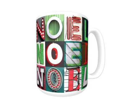 JESSICA Coffee Mug Cup featuring the name in photos of sign letters