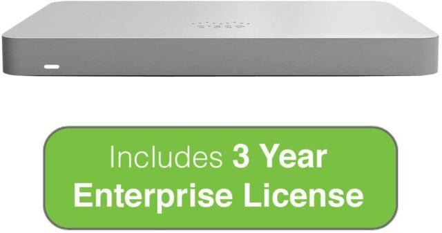 Meraki MX67W Appliance and 3 Year Advanced License