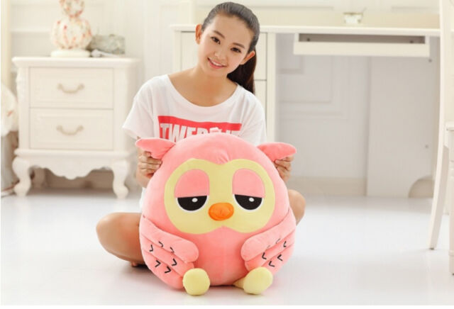 50cm Big Owl Plush Giant Stuffed Soft Toy Doll Large Pillow Kid