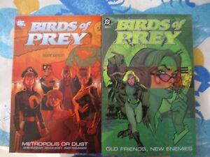 DC COmics Birds of Prey Massive TPB/HC Lot Oracle Black Canary Huntress