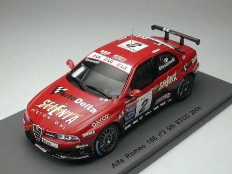 Spark 1 43 Alfa Romeo 156 ETCC 2004 de Japón