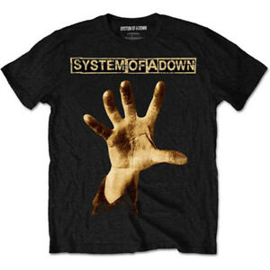 System of a Down Unisex Tee Hand - X-large Soadts05mb04