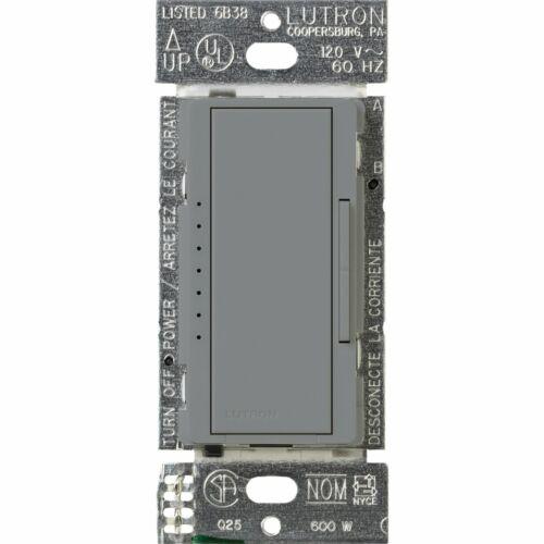 Lutron MA-600-GR Maestro 600-watt Multi-Location//Single Pole Digital Fade Dimmer