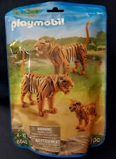 New Factory Sealed Playmobil #6645 Tiger Family