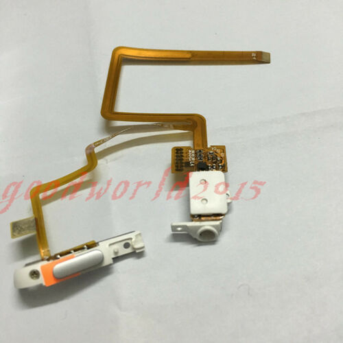 white Headphone Audio Jack Hold Switch Flex Ribbon for iPod 6.5th classic120GB
