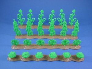 MARX-FARM-CIVIL-WAR-GETTYSBURG-FARM-CROP-ROWS-4-Set-Corn-More-NEW-1-32-FREE-SHIP