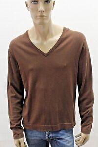 Maglione-TOMMY-HILFIGER-Uomo-Pull-Sweater-Man-Taglia-Size-L