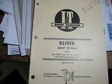 Iampt Oliver Super 99gmtc 950 990 995 770 880 Shop Service Manual O 13