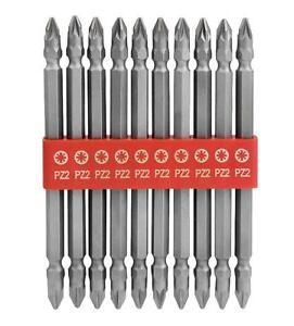 10-pezzi-lungo-a-due-estremita-PUNTE-AVVITATORE-ELETTRICO-SET-Pozi-2-foratura