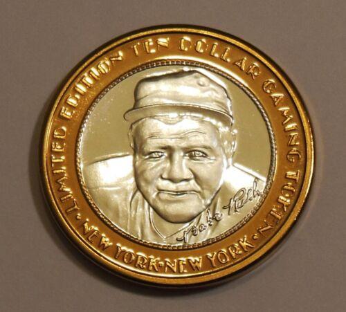 Babe Ruth Las Vegas New York New York .999 Fine Silver Casino Gaming Token