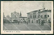 Verona San Martino Buon Albergo PIEGHINA cartolina QT4552