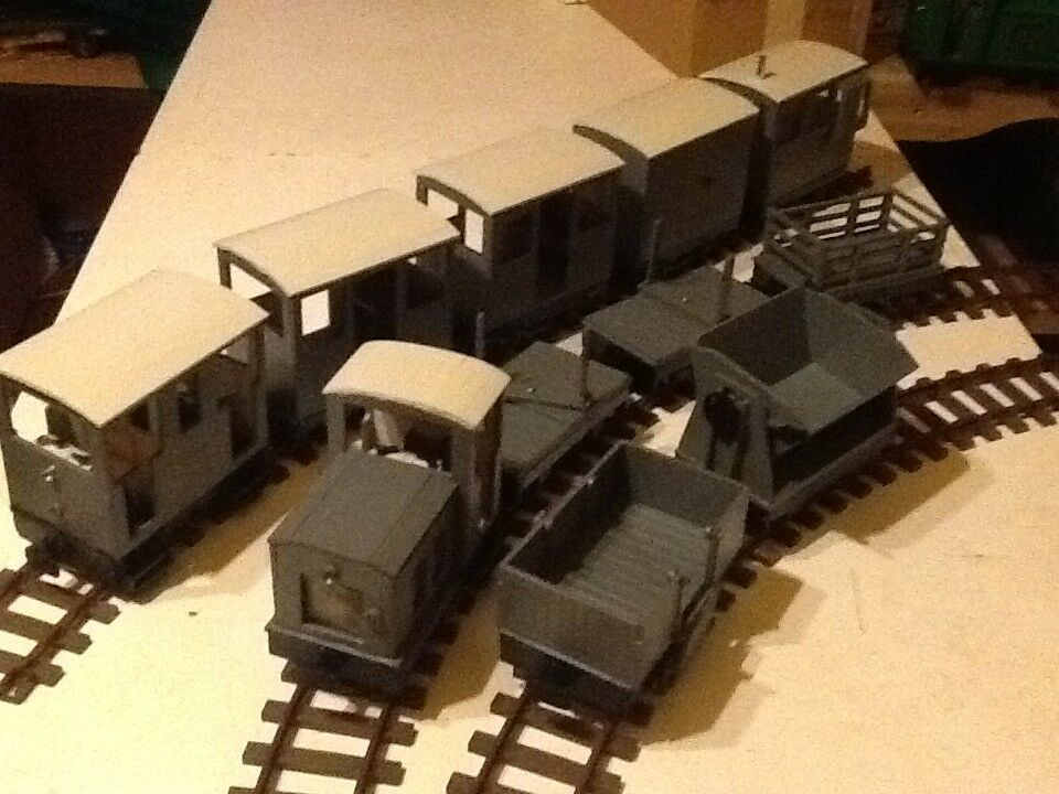 SM32 completare Industrial Narrow Gauge Twin Train Set 16mm Scale Garden Railway