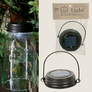 Image Is Loading Hanging Brown Solar Ed Mason Canning Ball Jar