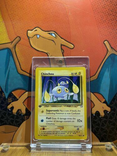 Chinchou Neo Genesis 1st Edition NM 55//111 Pokemon Card