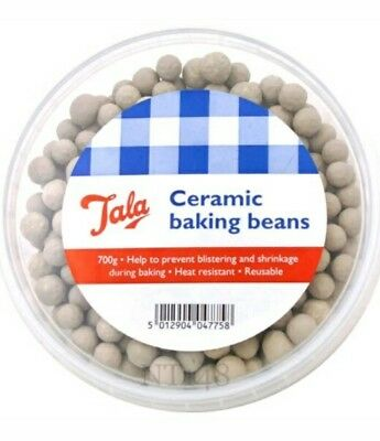 TALA CERAMIC BAKING BEANS,PIE BEADS FOR BLIND PASTRY BAKING 700G NEW,FREE P /& P