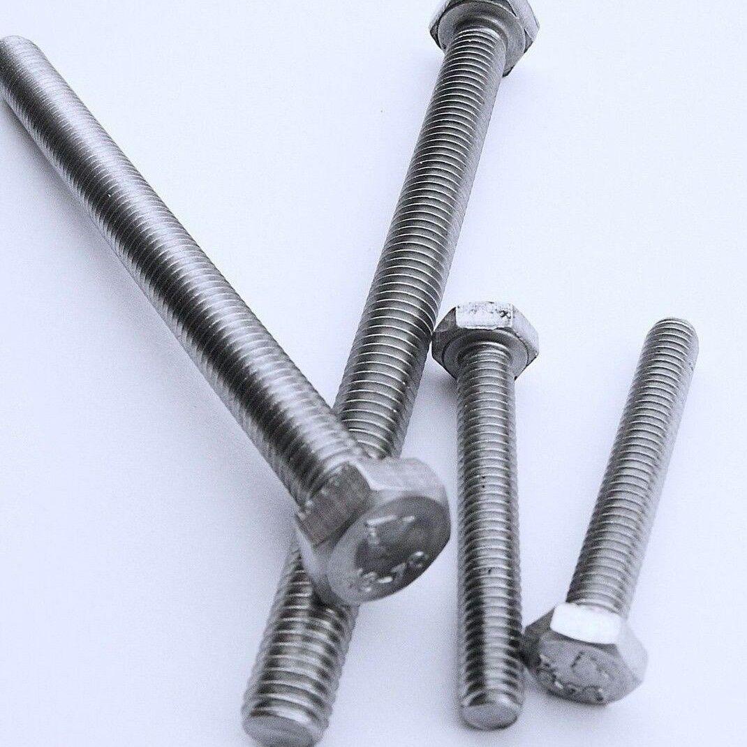 Sechskantschrauben Sechskantschrauben Sechskantschrauben DIN 933 Edelstahl VA M3 x6 bis M12 304cj933   Smart  9fa0dd