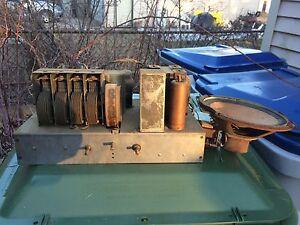 Antique-1930s-Zenith-Zenette-Radio-Receiver-amp-Speaker-45-Tubes-Model-C-Type-2004