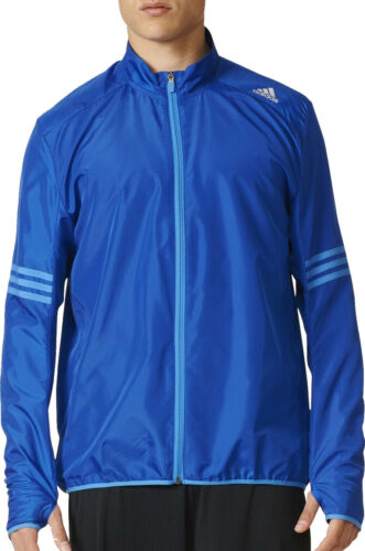 riflettente Giubbino Jacket zip da adidas Windproof integrale uomo con Response blu xUq46