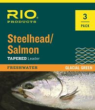 Glacial Green Rio Fly Fishing Tippet Salmon//Steelhead Tippet 30yd 8Lb Fishing Tackle