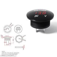 Universal Red LED Panel Digital Voltage Meter Display Voltmeter Car Motorcycle