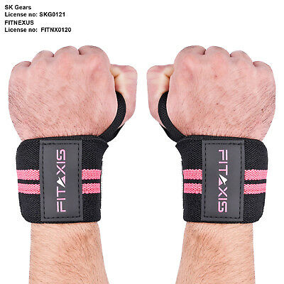 Wrist Thumb Brace Strap Power Weight Lifting Hand Wrap Support Gym Training Bar