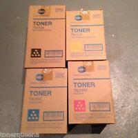4 Genuine Konica Minolta Bizhub C350 C351 C450 Color Toner Tn310k Tn310m