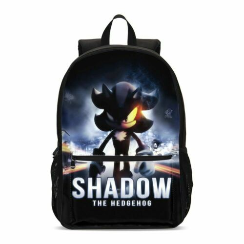 The Hedgehog Sonic Kids Schoolbag Boys Backpack Insulated Lunch Bag Pen Case LOT