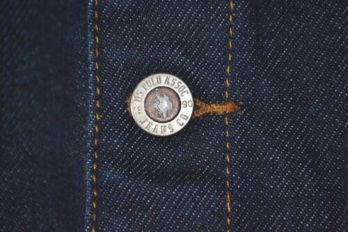 W M Polo Womens Nouveau Blue Jeans Assoc Nous flag Co Jacket Sz Denim qfwABqx8