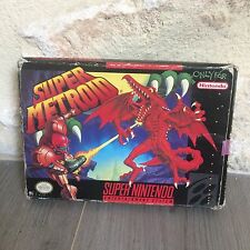 Super Metroid Super NES Nintendo SNES US en Boite SNSP-RI-USA NTSC Tested