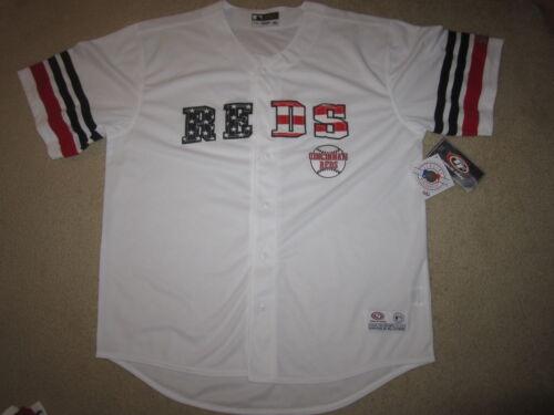 Baseball & Softball Fanartikel Cincinnati Reds USA Flagge Ausgabe MLB Trikot XL Herren