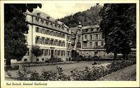 BAD BERTRICH LK Cochem-Zell alte AK Hotel Quellenhof alte Postkarte ~1950