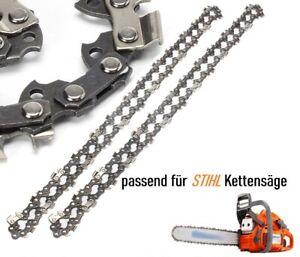 3x Sägekette Ersatzkette 30 cm für STIHL Motorsäge 023 MS 230