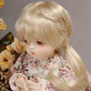 "/"" Guyomi Mohair Wig 6-7 Black Dollmore 1//6 BJD YOSD USD SIZE"