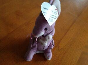 Ty-Teenie-Beanie-Babies-Springy-The-Lavender-Bunny