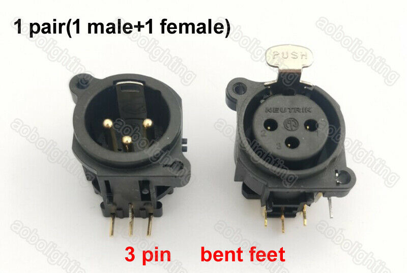 Moving Head Lights 3 Pin Xlr Connector