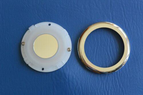 LED Ring Ceiling light 10-30V 70mm Chrome Plated Aluminium Boat Caravan